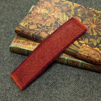 24. tweed bookmark
