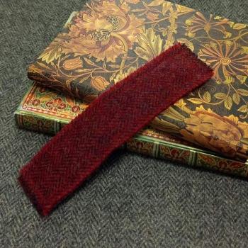 25. tweed bookmark
