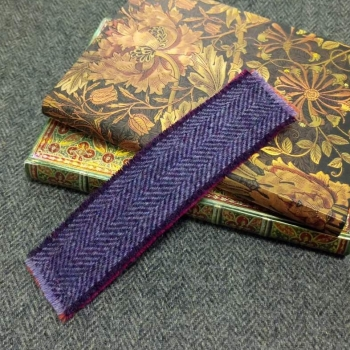 27. tweed bookmark