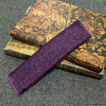 28. tweed bookmark