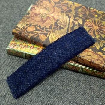 30. tweed bookmark