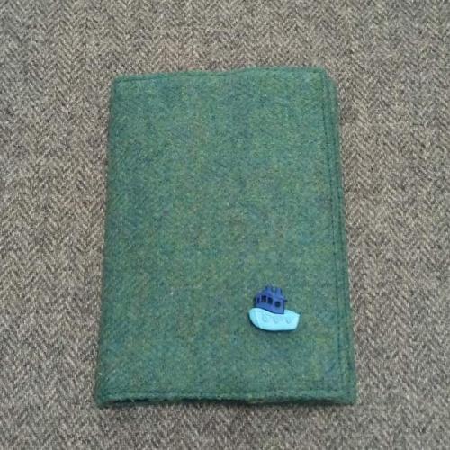 59. passport / notebook cover