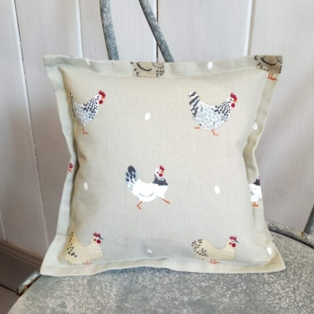 12. mini linen cushion
