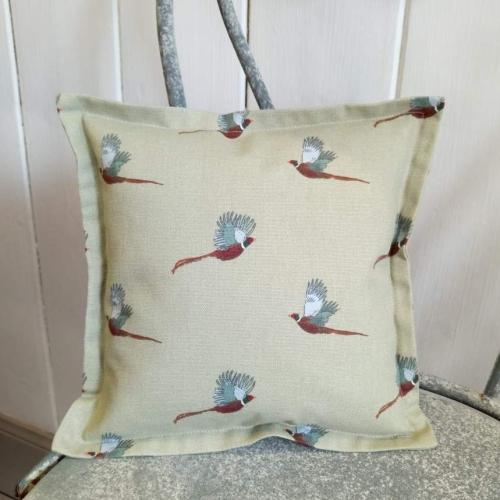 10. mini linen cushion