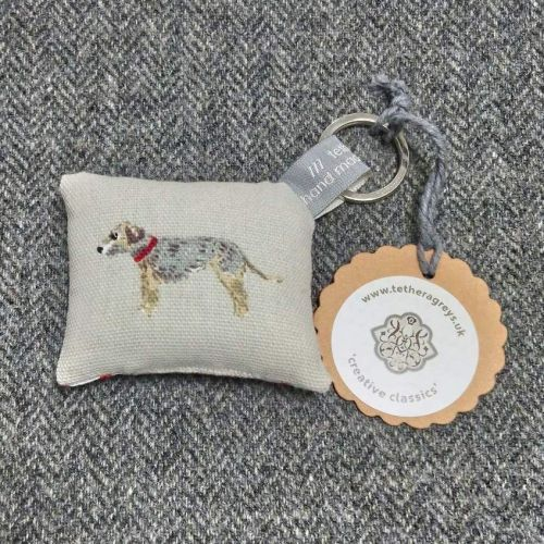 terrier key ring / bag charm