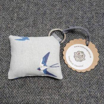 swallow key ring / bag charm