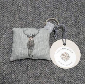 stag key ring / bag charm