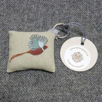 pheasant key ring / bag charm