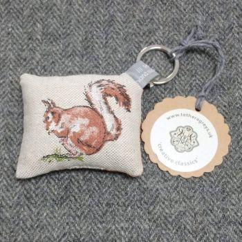 squirrel key ring / bag charm