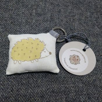 hedgehog key ring / bag charm