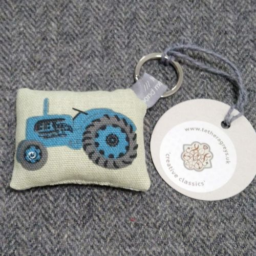 tractor key ring / bag charm