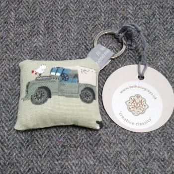 landrover key ring / bag charm
