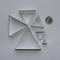 Triangle Set (Large) x 6
