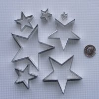 Star Set (Large) x 7