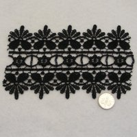 (L03)Lace - Black or Ivory Venise