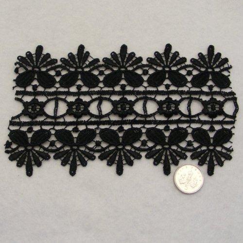 <!--004-->Lace - Black Venise
