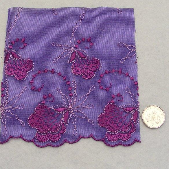 <!--022-->Lace - Purple Tulle