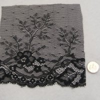 (L 32) Lace - Black Tulle