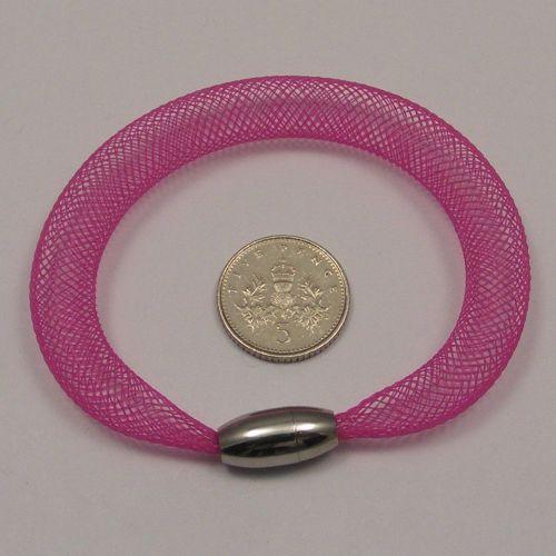 <!--087-->8mm Crin x 1 metre - Pink