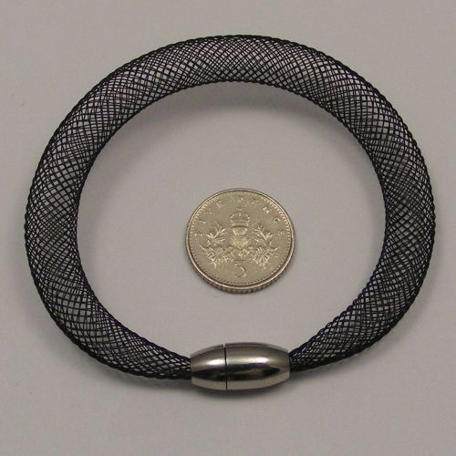 <!--088-->8mm Crin x 1 metre - Black