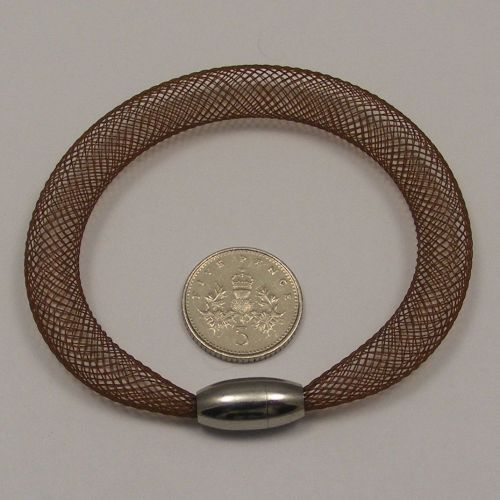<!--090-->8mm Crin x 1 metre - Brown