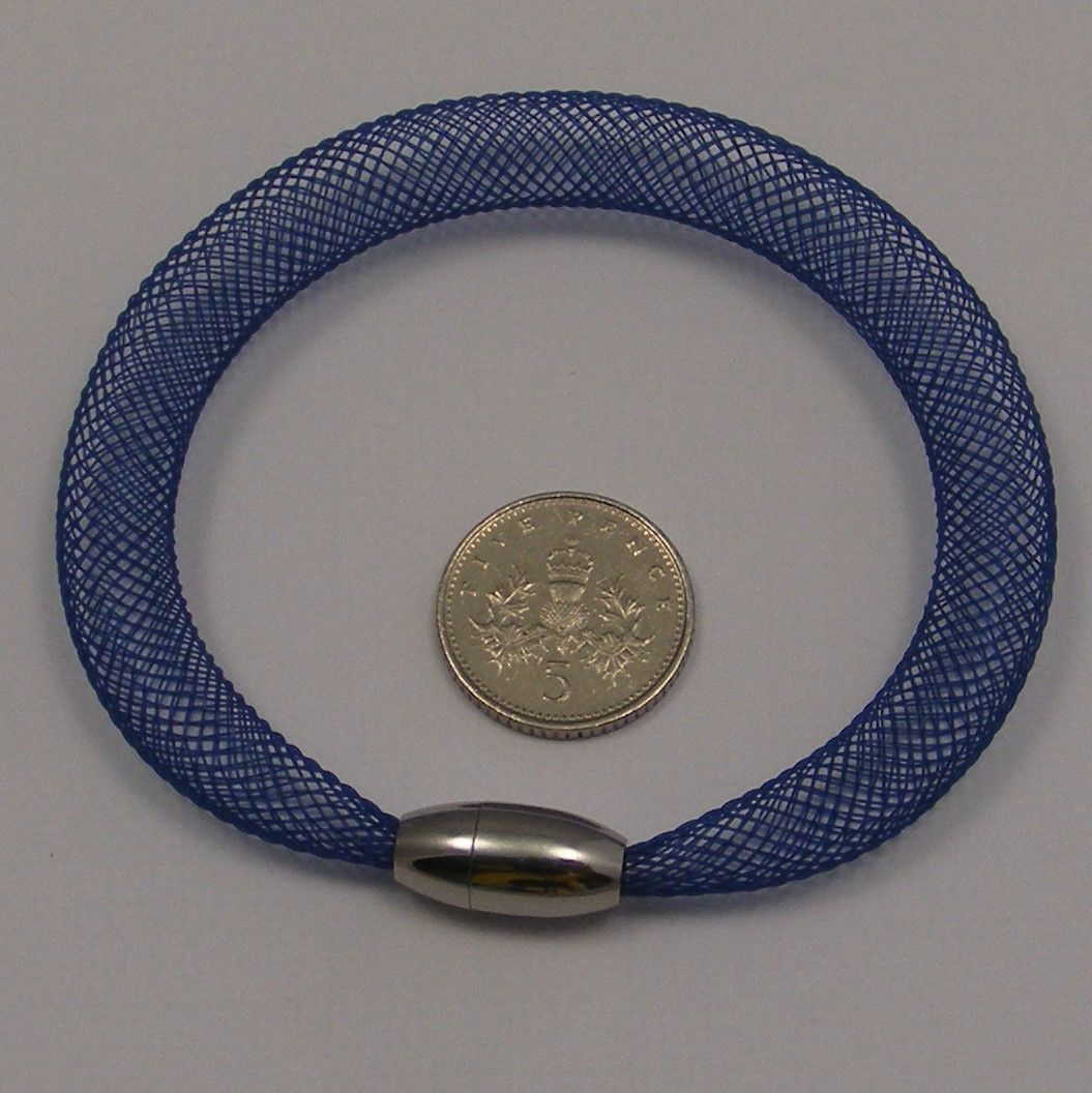 <!--084-->8mm Crin x 1 metre - Navy Blue