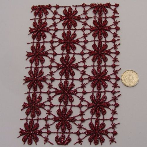<!--010-->Lace - Wine Daisy