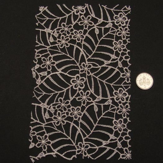 <!--048-->Lace - Leaves & Flowers