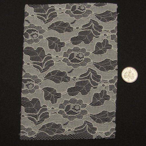 <!--050-->Lace - Ivory Corded