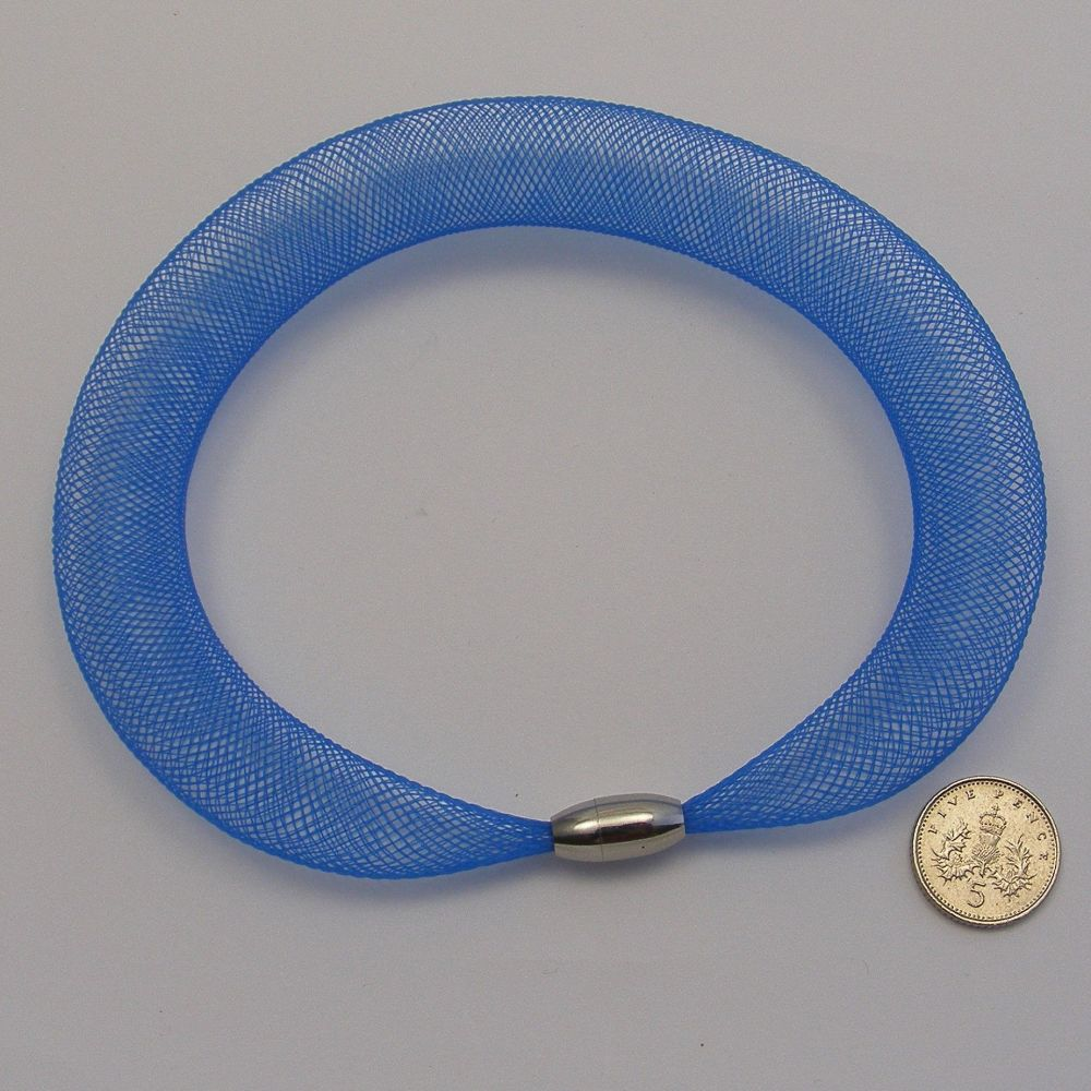 <1--221-->16mm Crim x 1 metre - Cobalt blue
