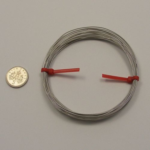 <!--007-->Stainless steel wire 0.071mm x 4 metres