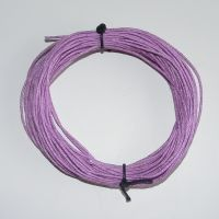 Lilac Waxed Cottn Cord - (Single Pack)