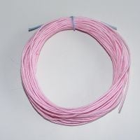 Pink Waxed Cotton Cord - (Single Pack)