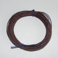 Brown Waxed Cotton Cord (Single Pack)