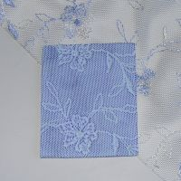 (BL 09) Blue Trailing Lace - Bangle Length