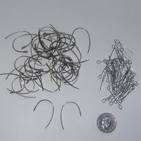 (EW 02V) Ear Wires + Eye Pins (24 pairs)