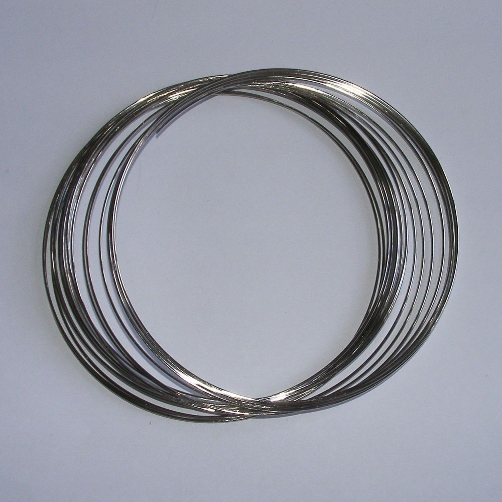 <!--023-->(MW 10) Steel Memory Wire 1mm - Necklace