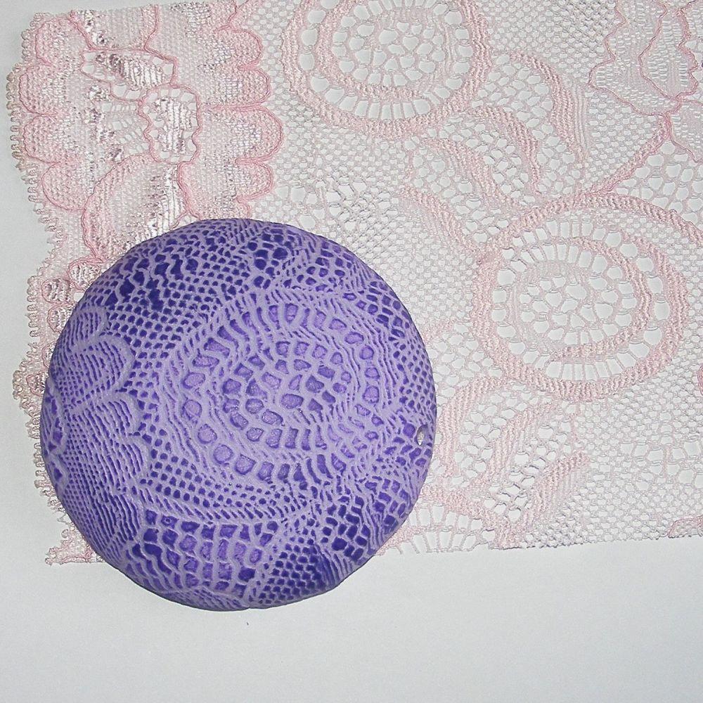 <!--029-->(L29) Lace - Pink Swirl