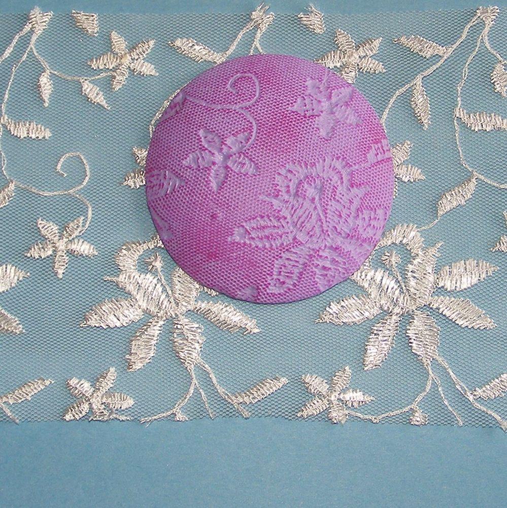 <!--049-->(L49) Lace - Ivory Floral