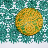 (L02)Lace - Green Guipure