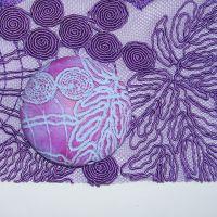 (L04)Lace - Purple Vine