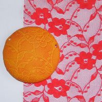 (BL 22) Red Pansy Lace - Bangle Length