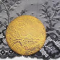 (L 32) Lace - Black Tulle