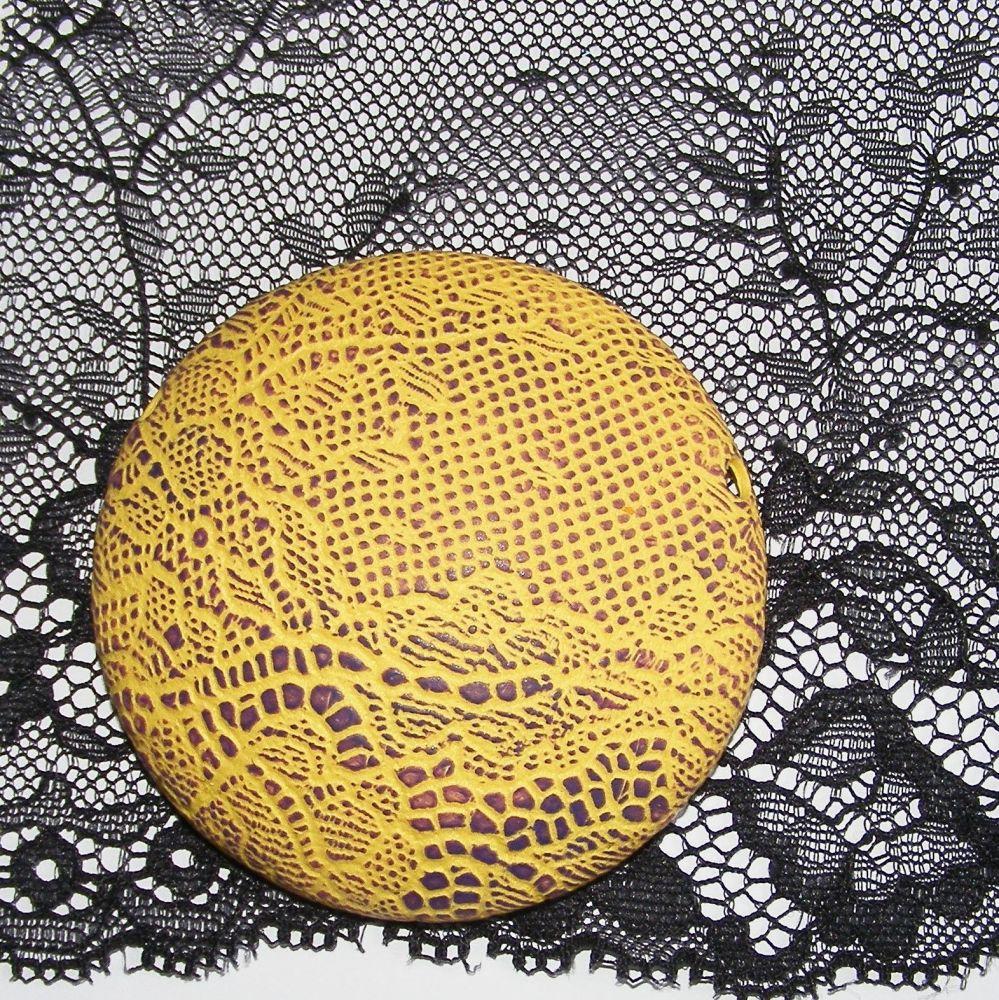 <!--032-->(L 32) Lace - Black Tulle