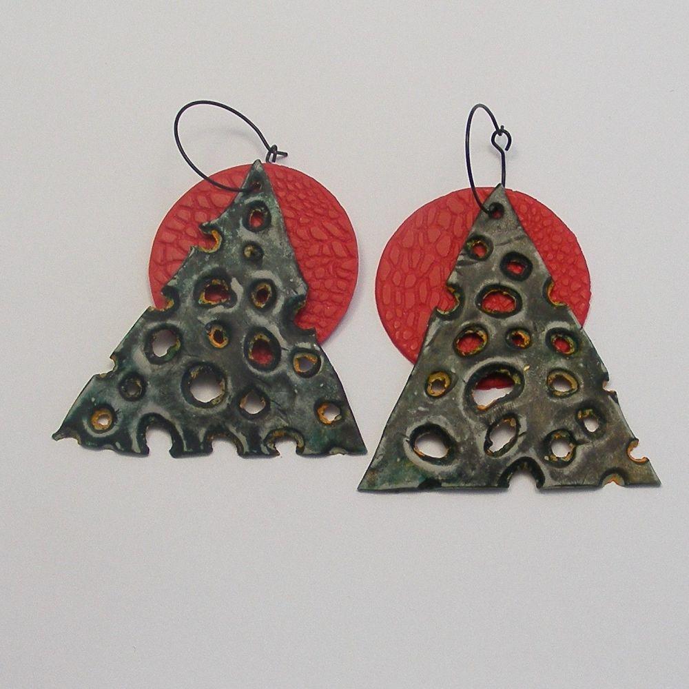 <!--031-->(EB 10) Wire Ear Loop - Black (x 6 pairs)