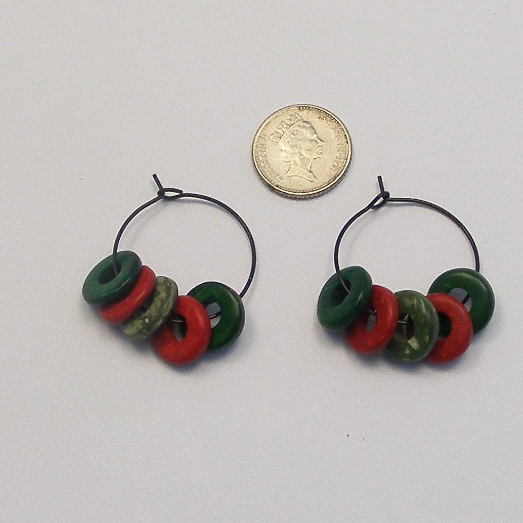 <!--031-->(EB 11) Wire Ear Loop - Black (x 6 pairs)