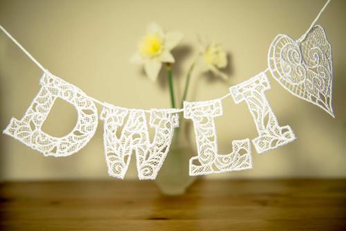 Dwli Lace bunting