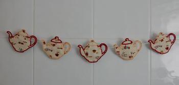 Tea pot bunting
