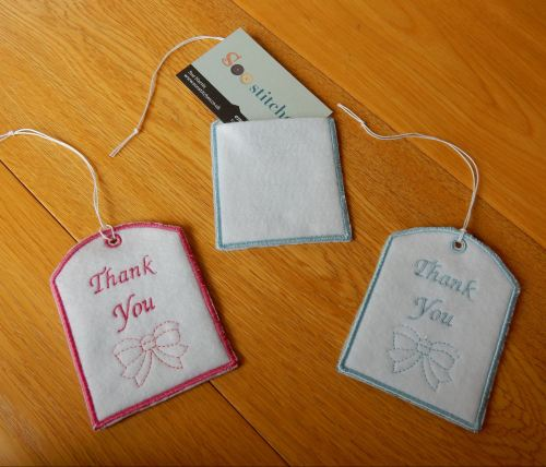 Thank you gift pouches