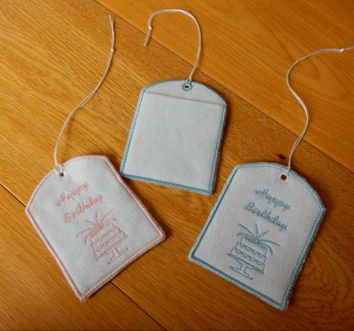 Birthday Gift Card pouches - can be personalised